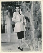 ANN MILLER Original Vintage 1940s JEAN LOUIS Joe Walters FASHION Portrait Photo