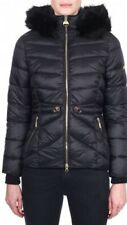 Barbour Womens Island Quilted Faux Fur Jacket Coat Size 10 BNWT Fibre Down £250
