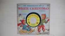 Peter Pan Records I'M DREAMING OF A WHITE CHRISTMAS 45rpm 1955
