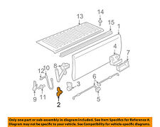 GM OEM Tail Gate-Hinge Right 15603558