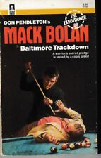Executioner #88: Baltimore Trackdown - PB 1986 - Don Pendleton - Mack Bolan