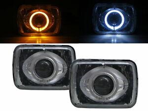 C20 Suburban 1979-1986 2D/4D CCFL Bi-Projector Headlight Chrome for Chevy RHD