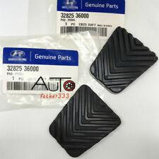 2x Brake & Clutch Pedal Pad Cover 32825-36000 For Hyundai Accent Sonata Santa Fe