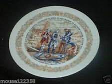 Limoges haute vienne Collector Plate Colonial Slaves