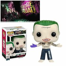 New Funko Pop Suicide Squad The Joker Shirtless Vinyl Figure Collection Toys