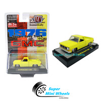M2 Machines Square Body Truck 1976 GMC Sierra Grande 15 (Yellow)  MiJo 1:64