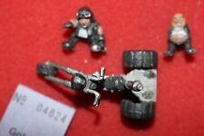 Warhammer 40k Squats Trike Bike Rogue Trader Era Metal Figure OOP Squat GW 1980s