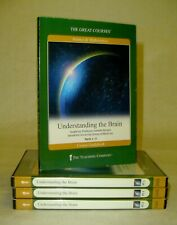 The Great Courses Understanding the Brain NEW Guidebooks + DVDs