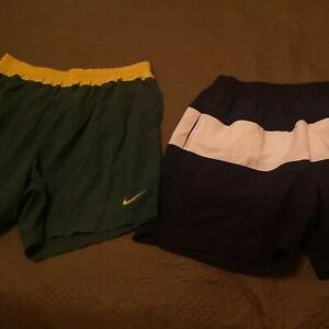 2X Vintage NIKE Men Swim Shorts  90s Big Spell out 100% Nylon XXL VGC