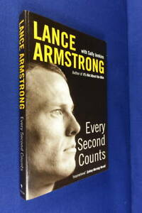 EVERY SECOND COUNTS Lance Armstrong BOOK Cycling Cancer Tour de France