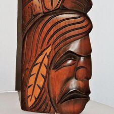 Chester Joseph Carving Sculpture Wood Eagle Head Chief Squamish BC Canada