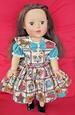 2009 Madame Alexander Brunette Doll ~ Vinyl Face, Arms, & Legs ~ Cloth Body