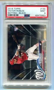 2018 Topps Victor Robles Black RC 51/67 PSA 9 MINT NATIONALS