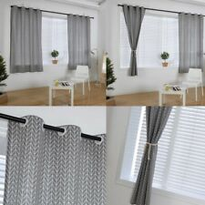 "55""*85"" Modern Printed Curtains Blackout Living Room Bedroom Window Drapes Decor"