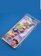 CHILDRENS INTERCHANGEABLE HEAD WATCH DORA THE EXPLORE,  CHOOSE FROM 4 CARACTERS