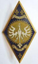 Insigne 5° CUIR REGIMENT CUIRASSIERS DRAGO BERANGER 1945 Cavalerie ORIGINAL