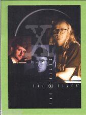 2- 2001 X Files Seasons 4 & 5 Promo Cards  P-1 And  P-2