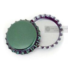 50 Green Bottle Caps New Unused Bottlecaps Cap Blank