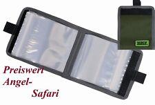 Vorfachtasche Medium 600 D Nyon Zebco 10 Klarsichttaschen Vorfachaufbewarung