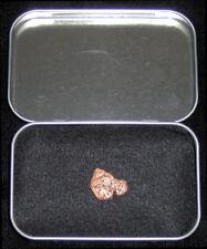 Gold Kryptonite Metal Meteor Rock w/ Lead Case Superman Smallville Man of Steel