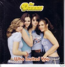 The DONNAS Who Invited You w/ UNRELEASE Trk Europe CD Single SEALED USA seller