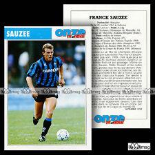 SAUZEE FRANCK (ATALANTA BERGAME) - Fiche Football / Calcio 1993