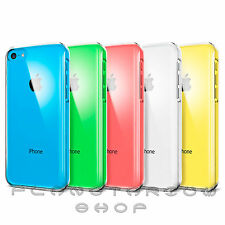 FUNDA CARCASA RIGIDA DURA TRANSPARENTE ULTRA-FINA PARA APPLE IPHONE 5C 5 C THIN