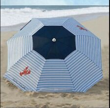 NAUTICA 7 FT Multi Color Lobster BEACH UMBRELLA