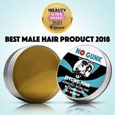 NO GUNK Styling Funk Medium Hold Hair Styling Wax Men - NO Chemicals - Natural