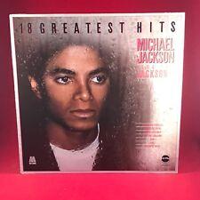 MICHAEL JACKSON & THE JACKSON 5 18 Greatest Hits UK vinyl LP Excellent Condit B