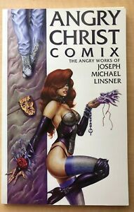 Angry Christ Comix The works of Joseph Michael Linsner 1994 1st Print Comic Book