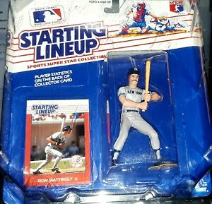 UNOPENED NEW 1988 Starting Lineup Don Mattingly N.Y. Yankees Figurine