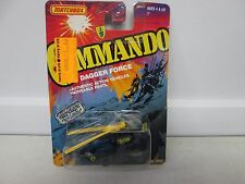 1988 Matchbox Commando Dagger Force Mission Helicopter