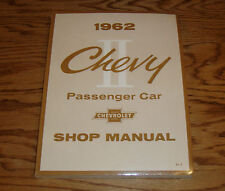 1962 Chevrolet Chevy II Car Shop Service Manual 62