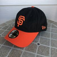 New Era Black San Francisco Giants Fitted Baseball Cap Hat 49Forty Medium 7-1/4