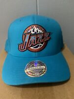 Utah Jazz Flexfit Mitchell & Ness Snapback