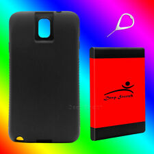New Samsung Galaxy Note 3 11900mah Super Extended Battery+Black TPU Case