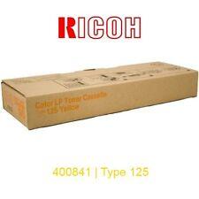 TONER RICOH AMARILLO · AFICIO CL2000 CL3100 (400841 TYPE 125) · ORIGINAL | NUEVO