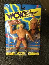 WWE WCW Ric Flair Figure On Card. Rare.