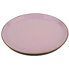 Tray Pink Gold Serving Breakfast Decorative Bowl Simple Quality 35 Cm