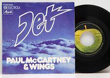 Paul McCartney  &   Wings        Jet        Apple       NM # D