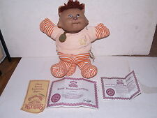Vintage 1984 Cabbage Patch Doll Koosas Pet-Michelle-with Certificates