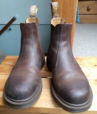Dr Martens 2976 Chelsea, Brown Leather Ankle Boots Size 3
