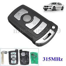 4 Button Remote Key Fob 315MHz ID7944 For BMW 7 Series E65 E66 E38 E39 CAS1 NEW