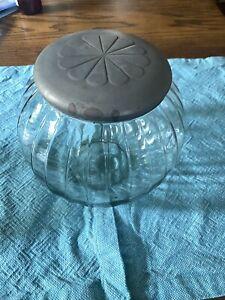 Sellers Antique Hoosier Sugar Jar with Lid