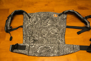 Tula baby carrier fancy Pavo Etini Coal with hood, toddler size