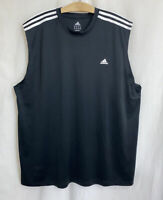 NWOT Adidas Men's Climalite Sleeveless Tank Top Athletic Shirt 2X XXL Polyester