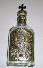 Weihwasser Flasche für 200ml Metall Ikone Erzengel Michael und Gabriel Engel