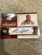 Shaun Livingston 2007-08 UD Artifacts Auto Warriors Clippers Signed Card
