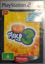 Playstation 2 PS2 EyeToy: Play 3 Game Platinum Edition